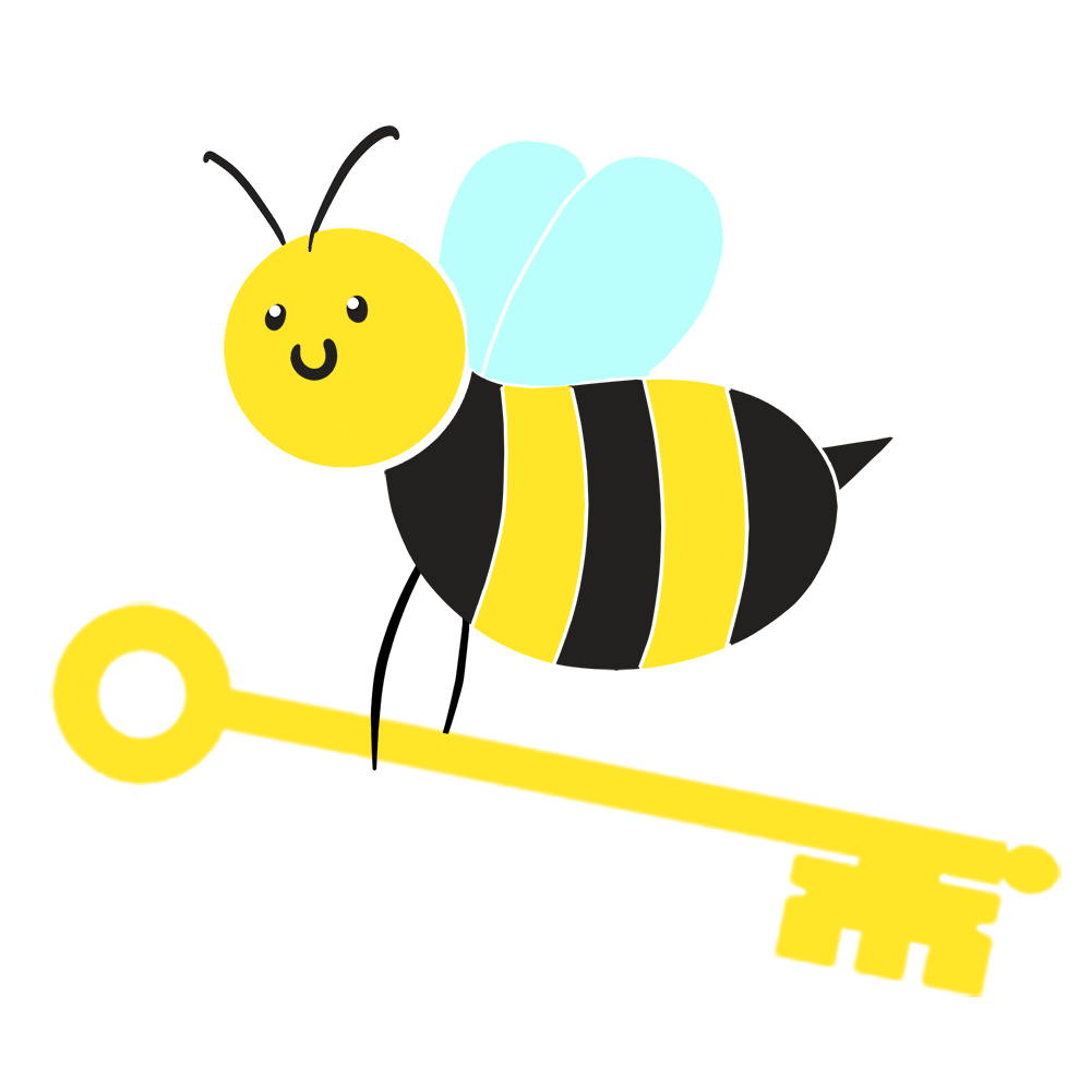 Bee_Flying_With_Key_transparent.png